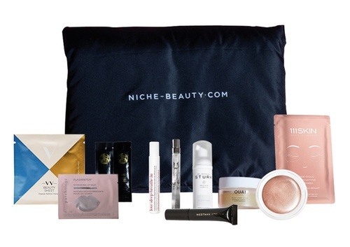 NICHE BEAUTY MY NEW BLACK POUCH