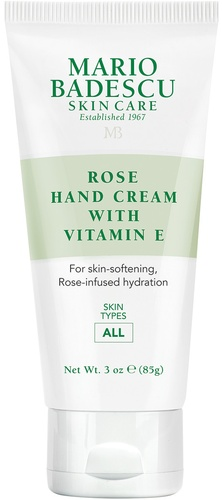 Rose Hand Cream with Vitamin E