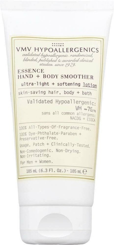 VMV Hypoallergenics Essence Hand+Body Smoother Lotion