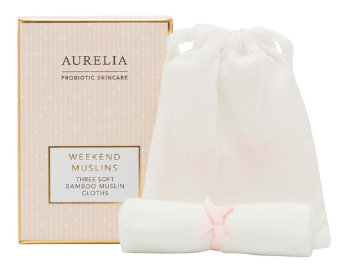 Aurelia Probiotic Skincare Weekend Muslins