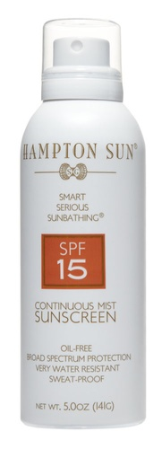Hampton Sun SPF 15 Continuous Sunscreen Mist