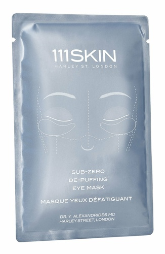 111 Skin Sub Zero De-puffing Eye Mask 8 x 6ml