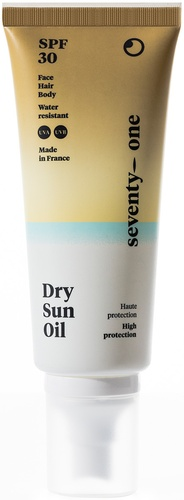SeventyOne Percent Dry Sun Oil SPF 30