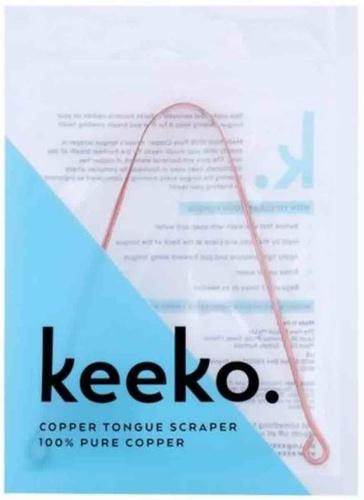 Buy Keeko Copper Tongue Scrapper | NICHE BEAUTY