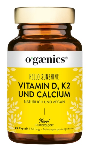 HELLO SUNSHINE Vitamin D, K2 und Calcium