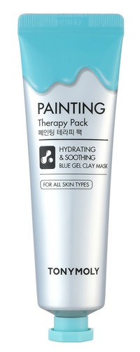 Painting Therapy Hydrating & Calming Blue Color Gel Clay