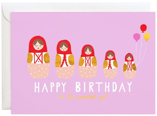 A Little Birthday Wish Greeting Card