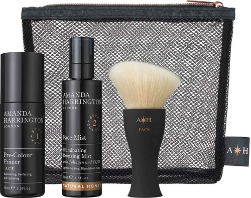 Amanda Harrington London Face Set Natural Olive