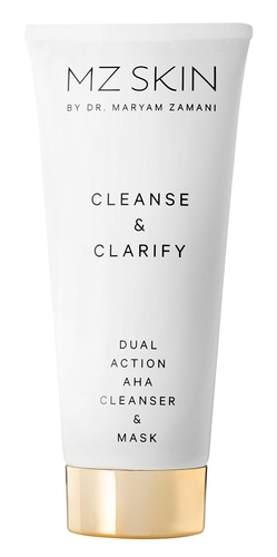 MZ Skin Cleanse & Clarify Dual Action AHA Cleanser & Mask