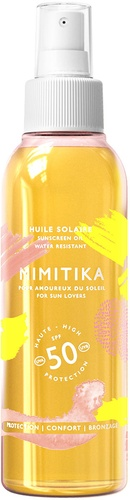 Mimitika Sunscreen Body Oil SPF 50