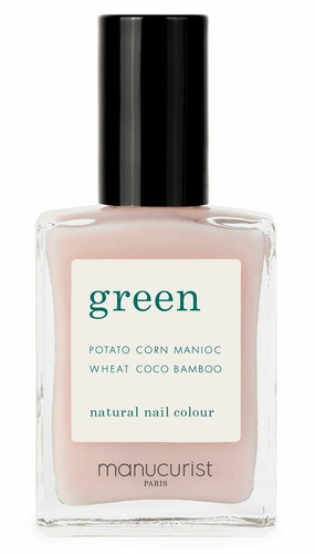 Green Nail Lacquer Pale Rose