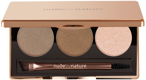 Nude By Nature Natural Definition Brow Palette 01 Blonde