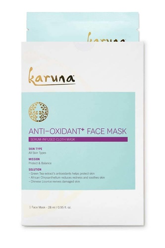 Karuna Anti-Oxidant + Face Mask Single