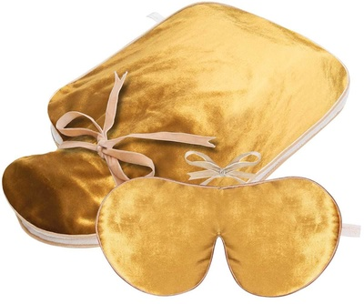 Holistic Silk Limited Gold Velvet Set