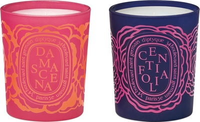 Diptyque Set of Candles Centifolia & Damascena