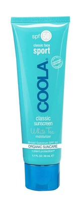 Coola® Sport Face Moisturizer SPF 50 White Tea