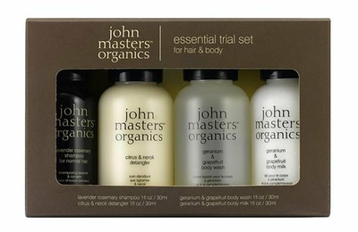 John Masters Organics Essential Trial Kit
