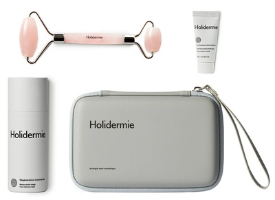 Holidermie Roller + Mask Set - Face Massage Initiation
