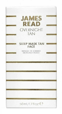 James Read Sleep Mask Tan Face