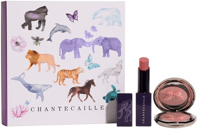 Chantecaille Wild Pairs: Cheek and Lip Duo Set 1