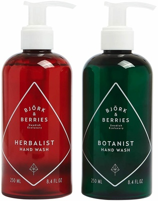 Björk & Berries Holiday Hand Wash Duo Kit 2019