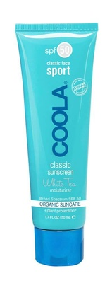 Coola® Sport Face Moisturizer SPF50 White Tea