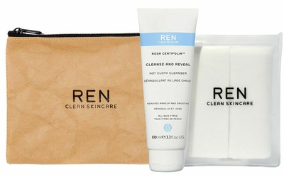 Ren Clean Skincare Rosa Centifolia ™  Starter Kit Cleanse And Reveal