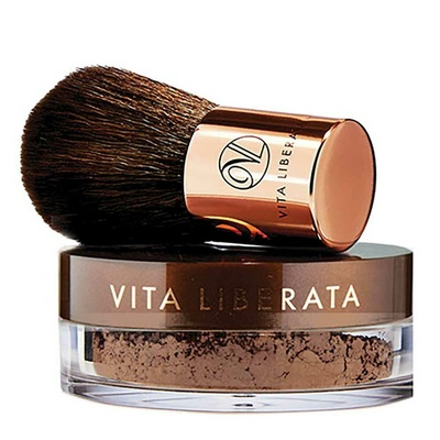 Vita Liberata Trystal Minerals with Brush Sunkissed