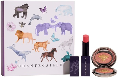 Chantecaille Wild Pairs: Cheek and Lip Duo Set 2