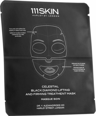 111 Skin Celestial Black Diamond Lifting and Firming Mask Face
