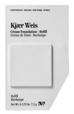 Kjaer Weis Cream Foundation Refill Like Porcelain refill
