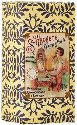 Claus Porto Barbear Grapefruit Fig Mini Soap