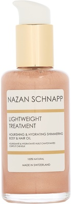 Nazan Schnapp Lightweight Treatment Nourishing & Hydrating Shimmering Body & Hair Oil