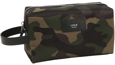 Wouf Camouflage Travel Case