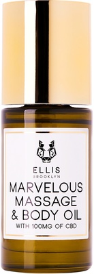 Ellis Brooklyn Marvelous Massage & Body Oil with Full Spectrum CBD