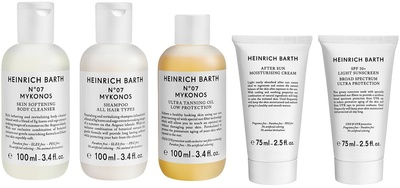 Heinrich Barth Mykonos Travel Set