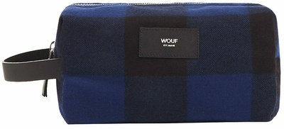 Wouf Blue Jack Travel Case