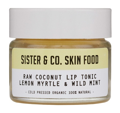 sisterco Raw Coconut Lip Tonic with Lemon Myrtle & Wild Mint