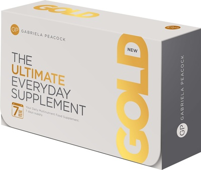 GP Nutrition Gold - The Ultimate Everyday Supplement Kit