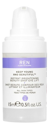 Ren Clean Skincare Keep Young And Beautiful ™ Instant Brightening Beauty Shot Eye Lift