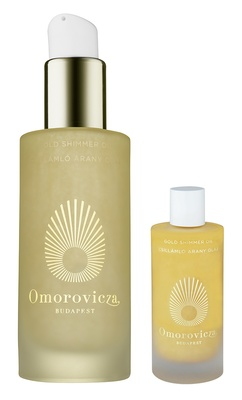 Omorovicza Gold Shimmer Oil Set