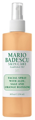 Mario Badescu Facial Spray with Aloe, Sage & Orange Blossom 118 ml