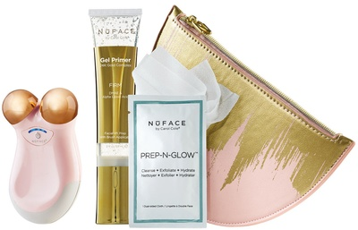 NuFACE NuFACE® Gold Limited Holiday Mini Express Skin Toning Collection