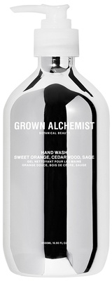 Grown Alchemist Silver Hand Wash Sweet Orange, Cedarwood & Sage 550 ml
