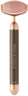 Angela Caglia Vibrating Rose Quartz Sculpting Roller