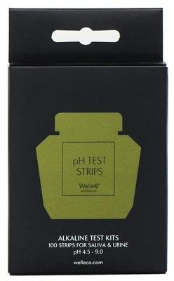 WelleCo pH Test Strips