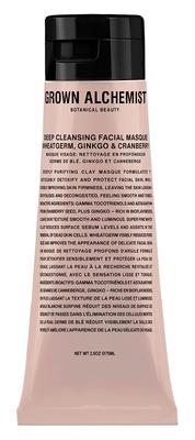 Grown Alchemist Deep Cleansing Masque Deep Purifying: Wheatgerm Ginkgo and Cranberry