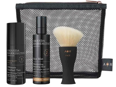 Amanda Harrington London Face Set Natural Honey