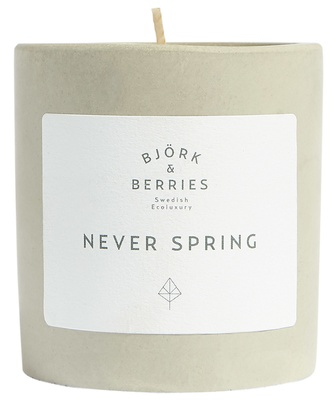 Björk & Berries Never Spring Scented Candle