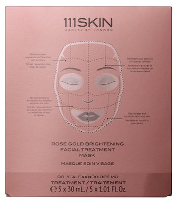 111 Skin Rose Gold Brigtening Facial Treatment Mask